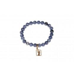 Gadżet Studio Figura - bransoletka z koralikami niebieska. Produkt damsko-męski